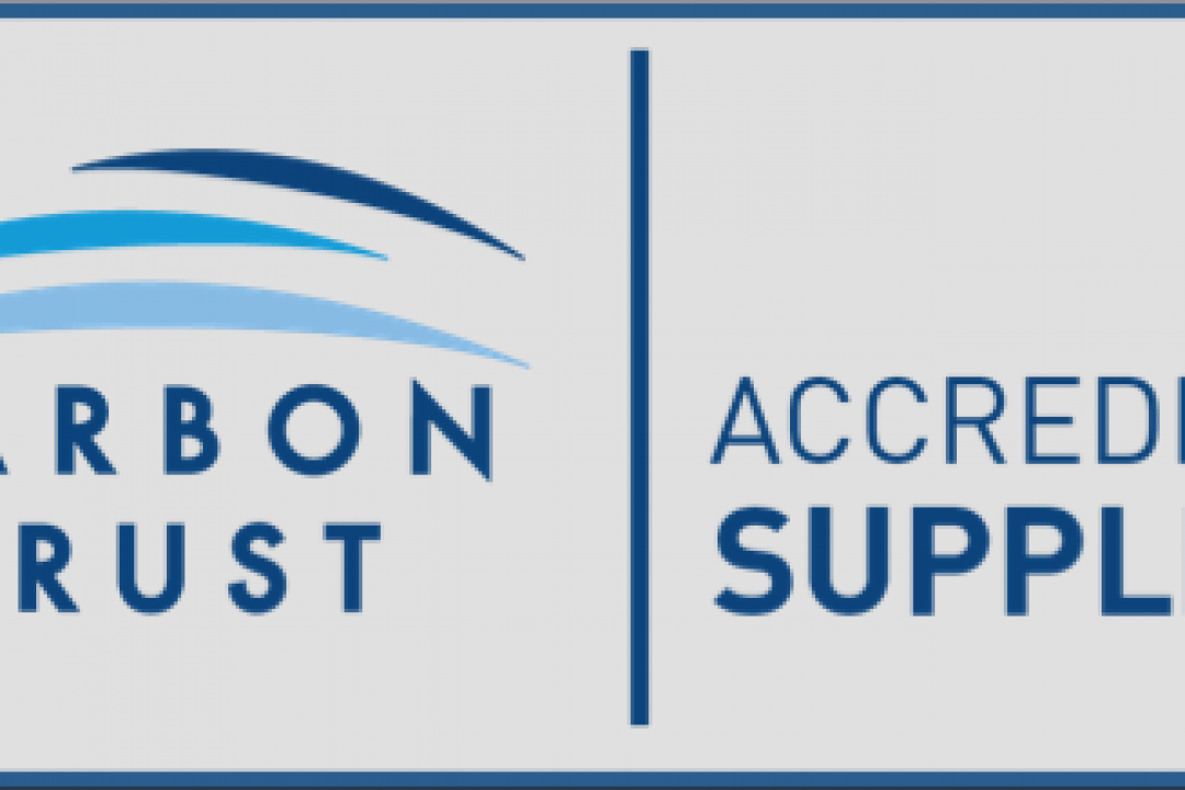 Carbon Trust Accredited Supplier