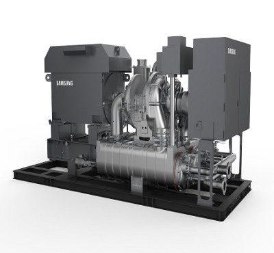 Hanwha Oil-Free Turbo Compressor
