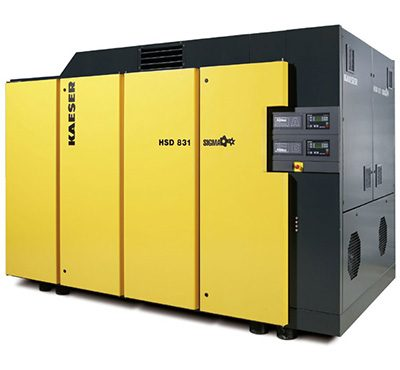 Extra Large Kaeser Rotary Screw Compressors