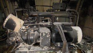 Compressor Fire