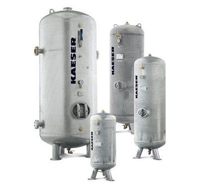 Galvanised Air Receivers