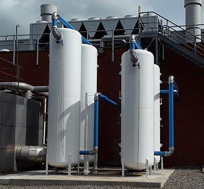 Mild Steel Painted Air Receivers