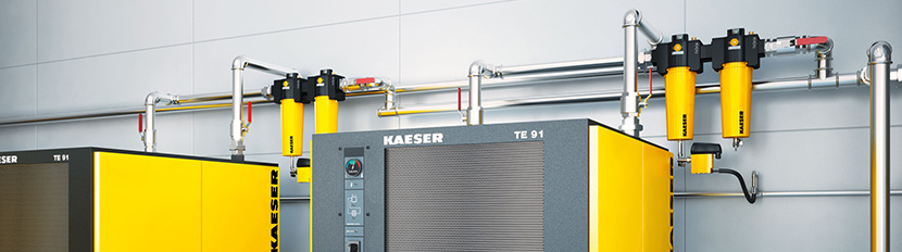 Inline Filtration for Air Compressors