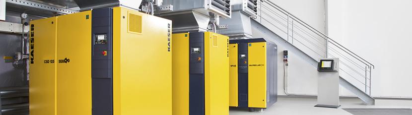 Rotary Screw Air Compressors