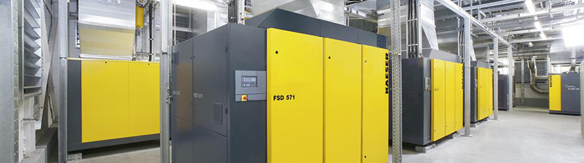 Large Rotary Screw Air Compressors