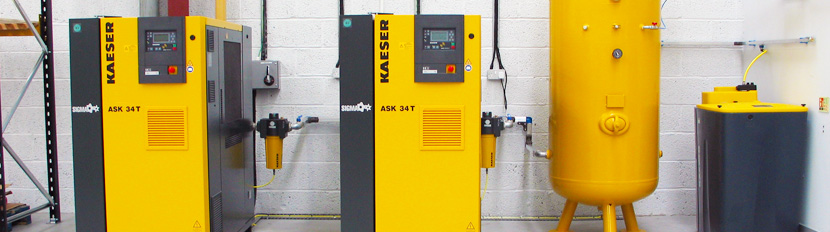 Small Rotary Screw Air Compressors