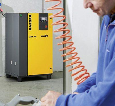 Small Rotary Screw Compressors