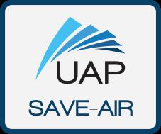 UAP SaveAir Badge