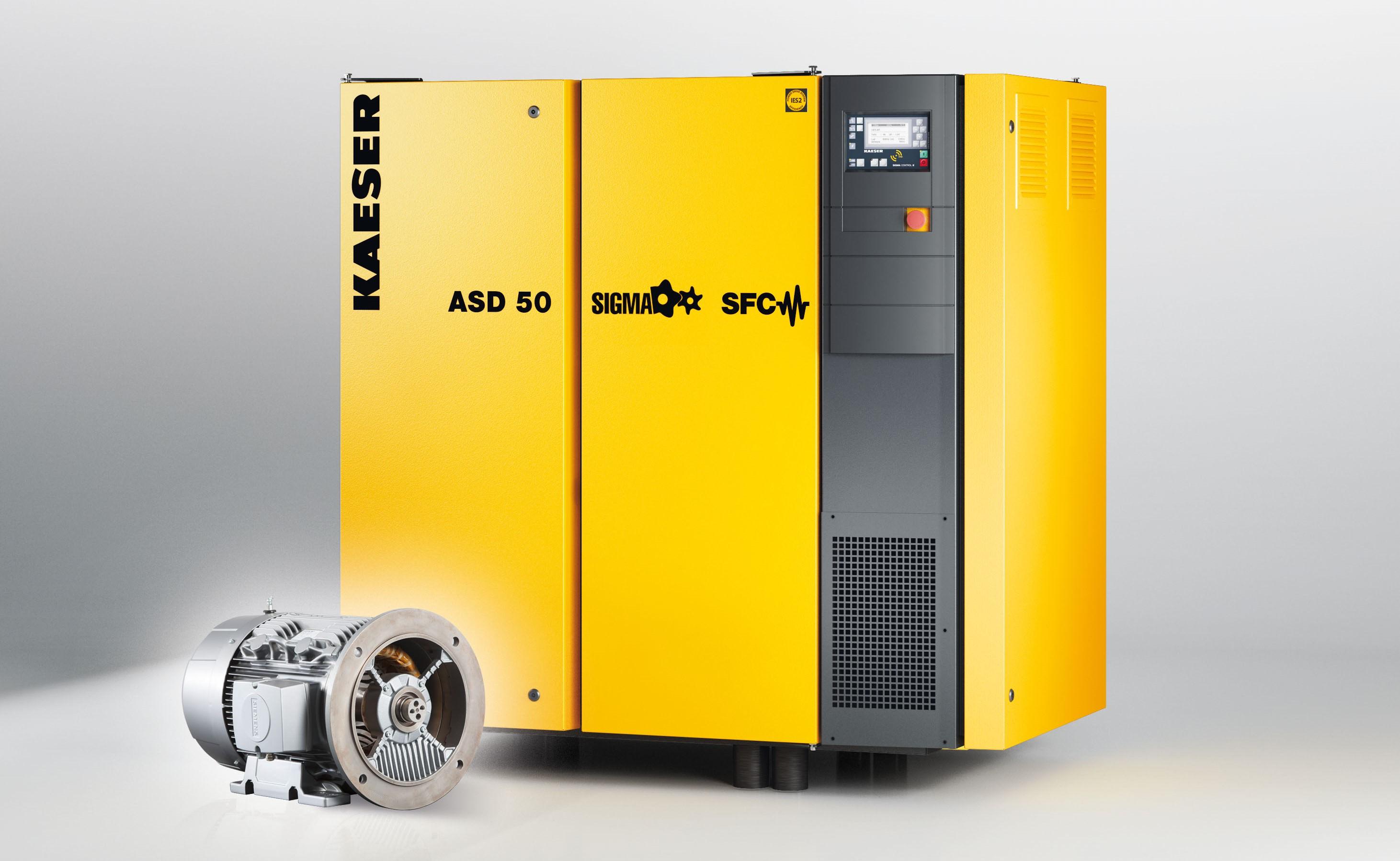 Kaeser ASD 50 Rotary Screw Air Compressor